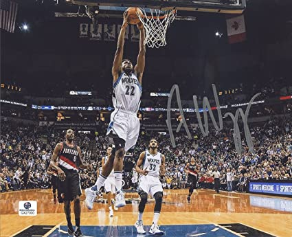 Andrew Wiggins Minnesota Timberwolves Signed Autographed 8 X 10