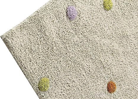 120/x 160/cm Happy Decor Kids hdk-244/Tapis lavable Multi Dots beige