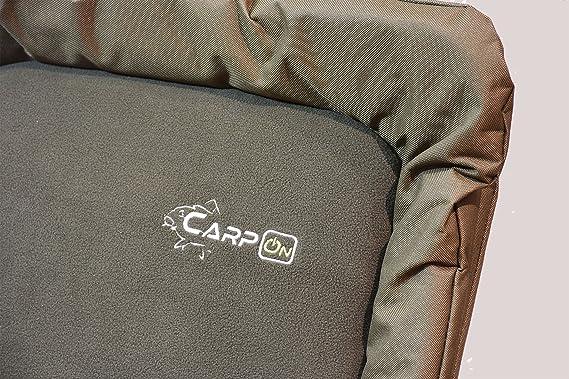 Karpfenstuhl Campingstuhl Stuhl CarpOn Soft Carp Chair Camping