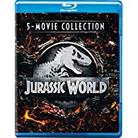 Jurassic World 5 Movies Collection: Jurassic Park + The Lost World: Jurassic Park + Jurassic Park 3 + Jurassic World + Fallen Kingdom