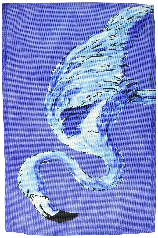 キャロラインはスレートブルーファブリックプレースマットで8873PLMTフラミンゴの宝物   B00IVRP9E6
