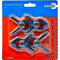 Grampo Plástico 2 Pol. com 4 Unidades Rayco