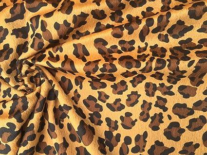 cheap for discount 1f50b 6de2d Velboa pelliccia leopardato velour tessuto materiale morbido ...