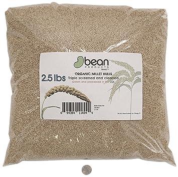 Amazon.com: Orgánico mijo cáscaras por Bean productos ...