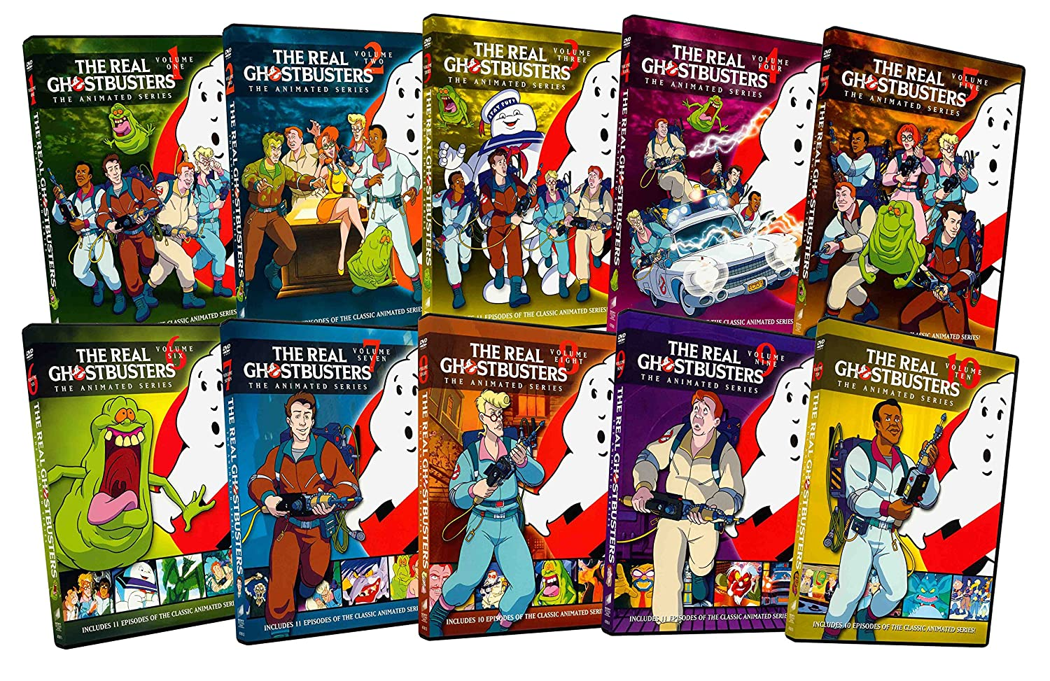 Amazon Com The Real Ghostbusters The Animated Series Volume 1 10 Maurice Lamarche Dave Coulier Frank Welker Arsenio Hall Lorenzo Music Will Meugniot Movies Tv