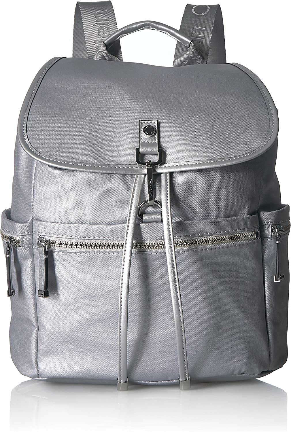 Calvin Klein Lianna Nylon Flap Over Backpack