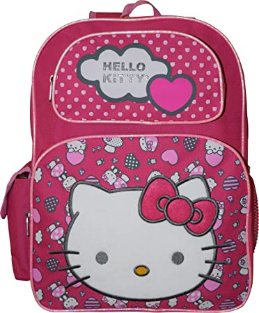 Amazon.com: Hello Kitty Deluxe embroidered 16