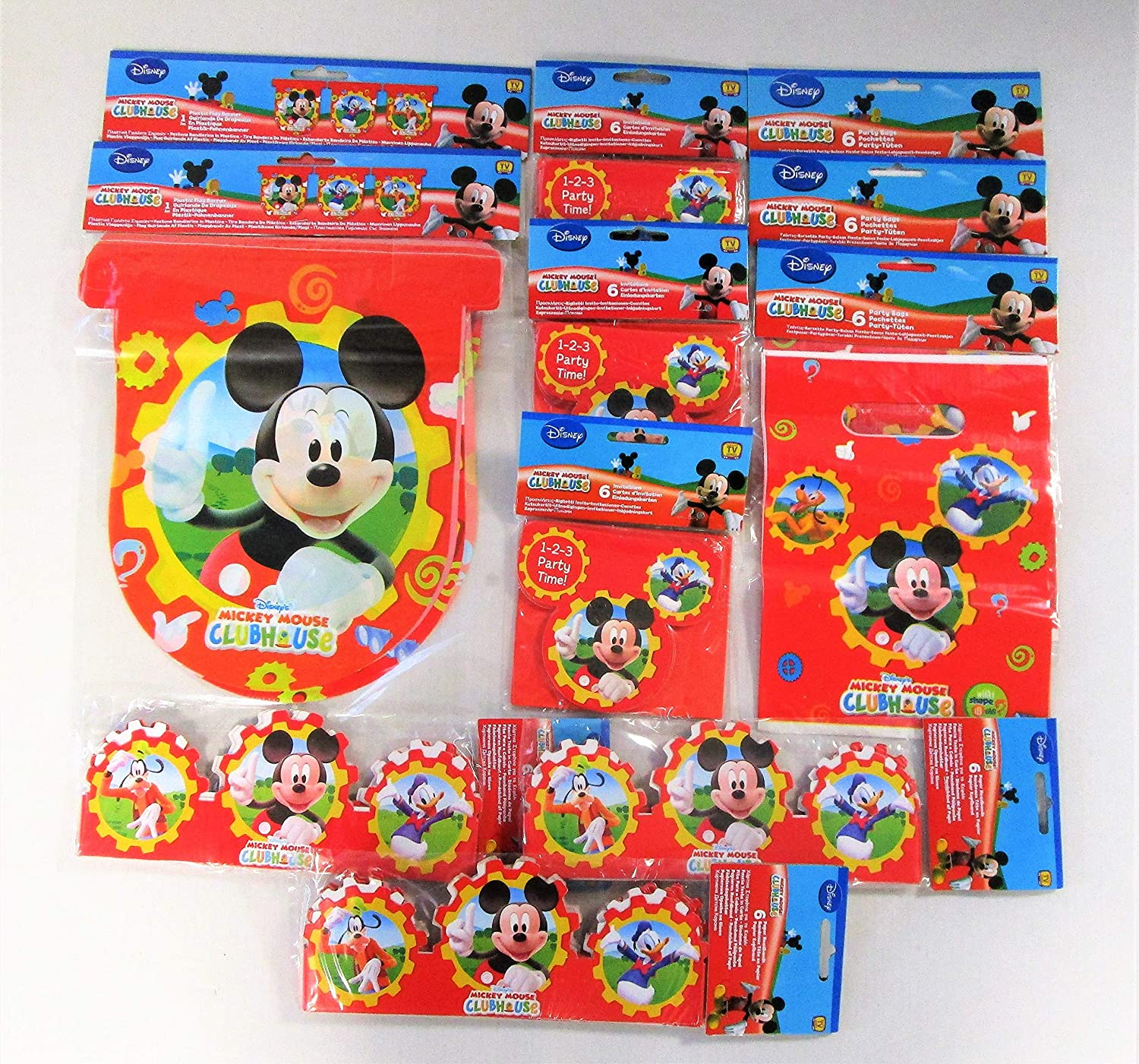 Disney Mickey Mouse Clubhouse Party Pack For 18 People