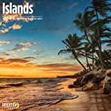 2021 Islands Wall Calendar by Bright Day, 12 x 12 Inch, Beautiful Tropical Destination