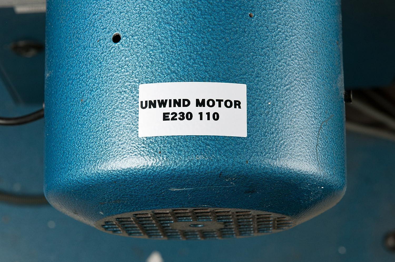 /595-wt wei/ß Drucker Etikett mit Haftklebestreifen Etikett zu drucken/ /Etiketten zu drucken /375/ wei/ß, Drucker-Etikett selbstklebend, Vinyl, Thermotransfer, Acryl, permanent Brady M21/