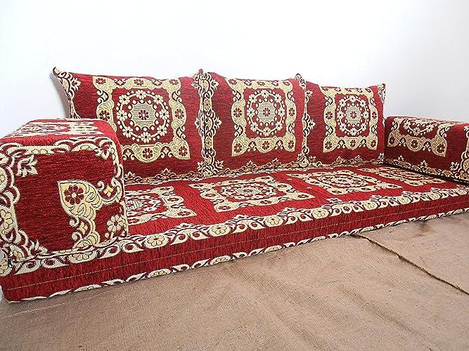 Arabian floor cushions meze blog for Floor cushion seating ideas
