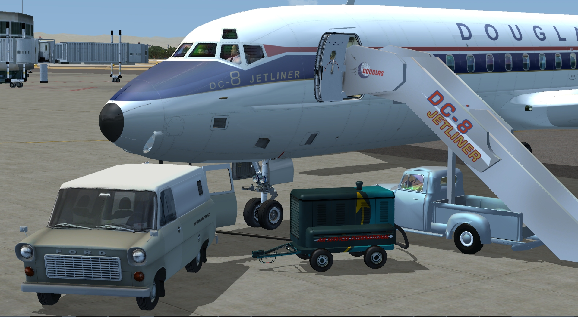 Amazon com: DC-8 Jetliner Series 10 to 40 [Download]: Video