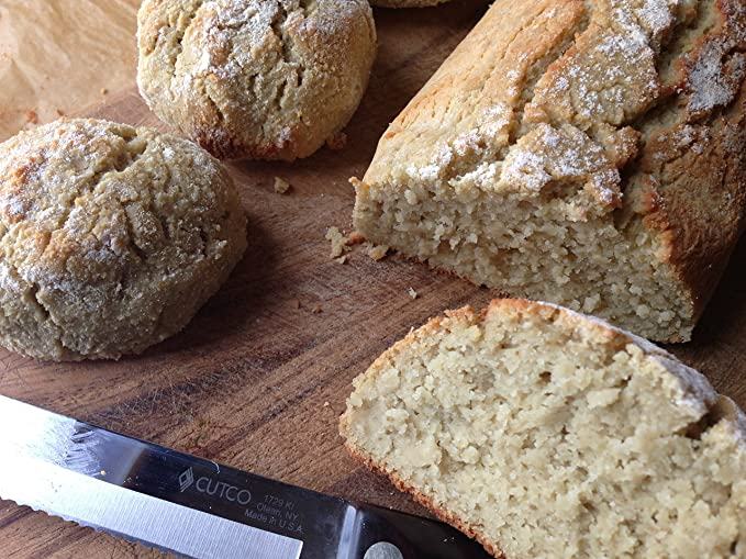 Paleo-Keto - Mezcla de pan rústico sin granos, 10.2 onzas ...