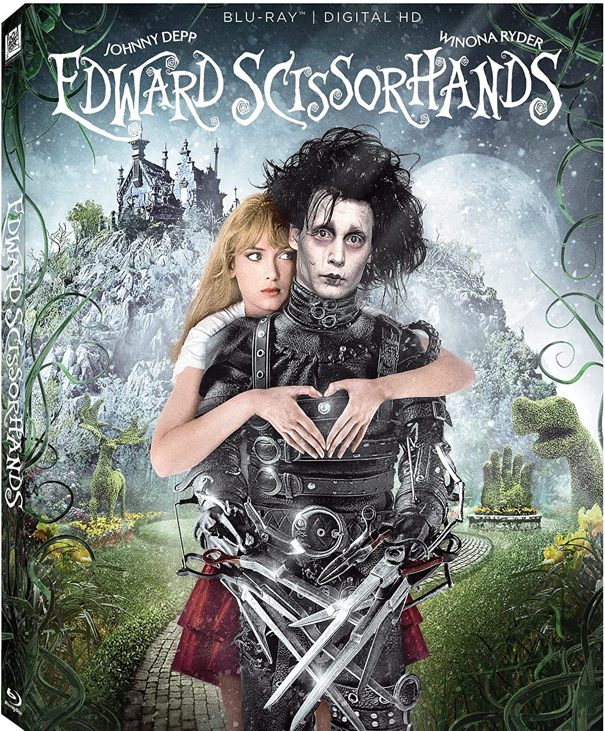 com edward scissorhands th anniversary blu ray anthony  com edward scissorhands 25th anniversary blu ray anthony michael hall johnny depp tim burton movies tv