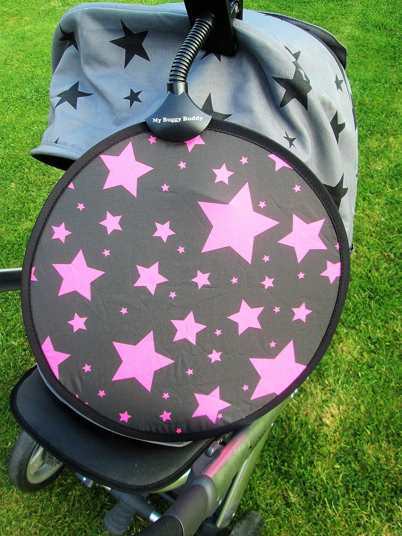 /Parasol dise/ño de estrellas color rosa My Buggy Buddy/