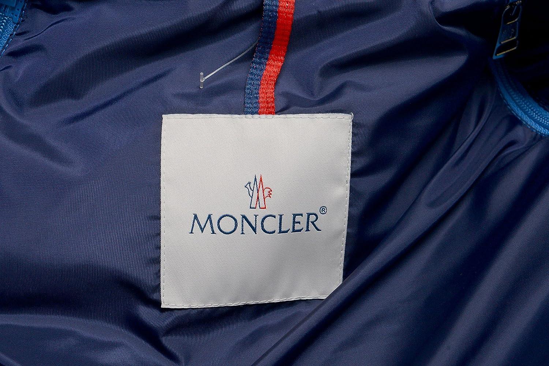 Amazon.com: Moncler hombre Azul Full cierre de cremallera ...
