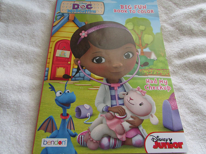Disney Doc McStuffins Coloring and Activity Book Set 2 Books ~ 96 pgs each