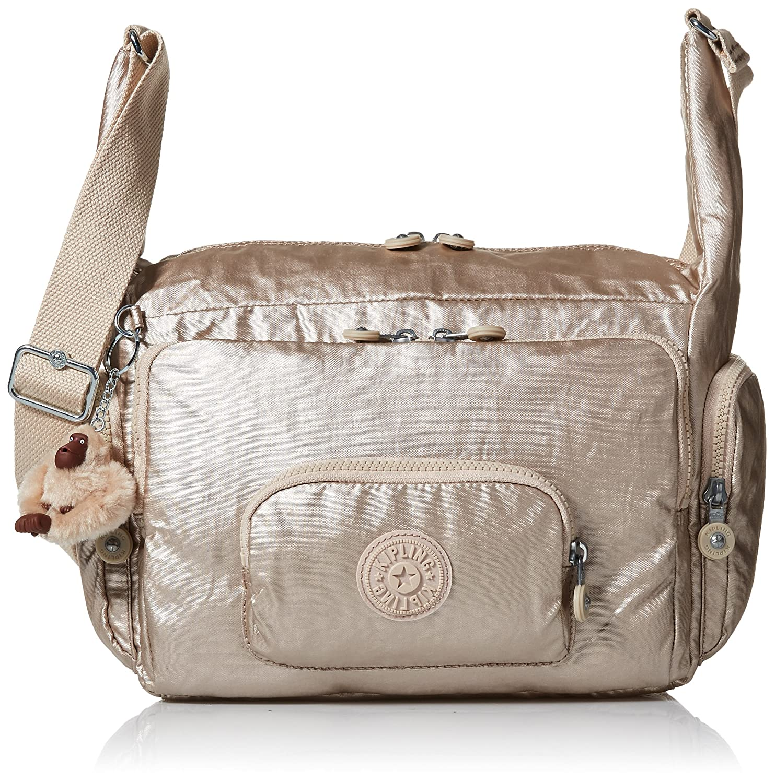 5999bcd53c3 Kipling Erica Metallic Crossbody Bag, Sparklygld: Amazon.co.uk ...
