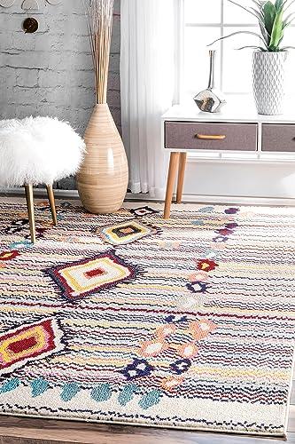 nuLOOM Motley Moroccan Area Rug, 4 x 6 , Multi