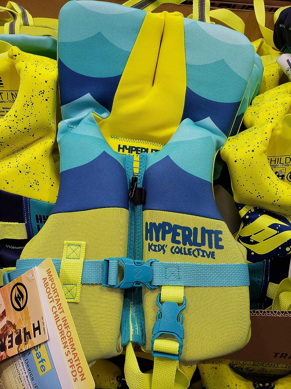 Hyperlite Wake Co 子供用コレクティブタイプII PFD 沿岸警備隊承認ライフベスト - 幼児 - 30ポンド以下   B07RH939Z7