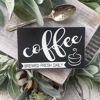 Amazon Com Coffee Sign Coffee Bar Coffee Bar Sign Coffee Bar Decor