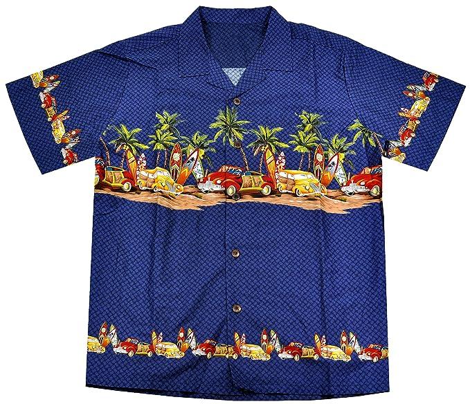 7703370b High Surf Men's Hawaiian Aloha Shirt at Amazon Men's Clothing store: