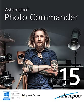 Ashampoo Photo Commander 15 - 5 PC Family License [Download]