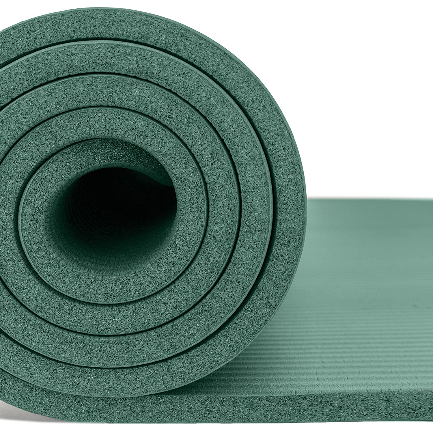 Meditation Non Slip /& Comfortable Workout Mat  For Yoga Floor /& Fitness Exercises Stretching Pilates Incline Fit Extra Thick Exercise Mat w// Carrying Strap