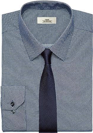 next Hombre Conjunto De Camisa Estampada Y Corbata Azul ...