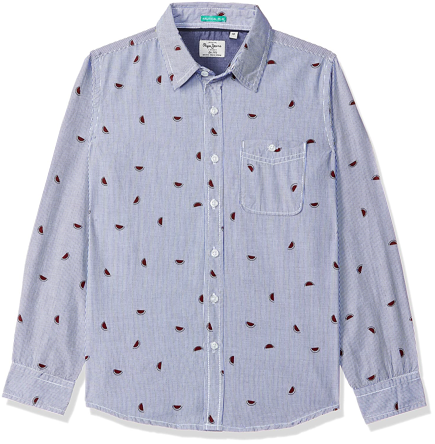 Pepe Jeans Kids Boys Shirt: Amazon.in: Clothing & Accessories