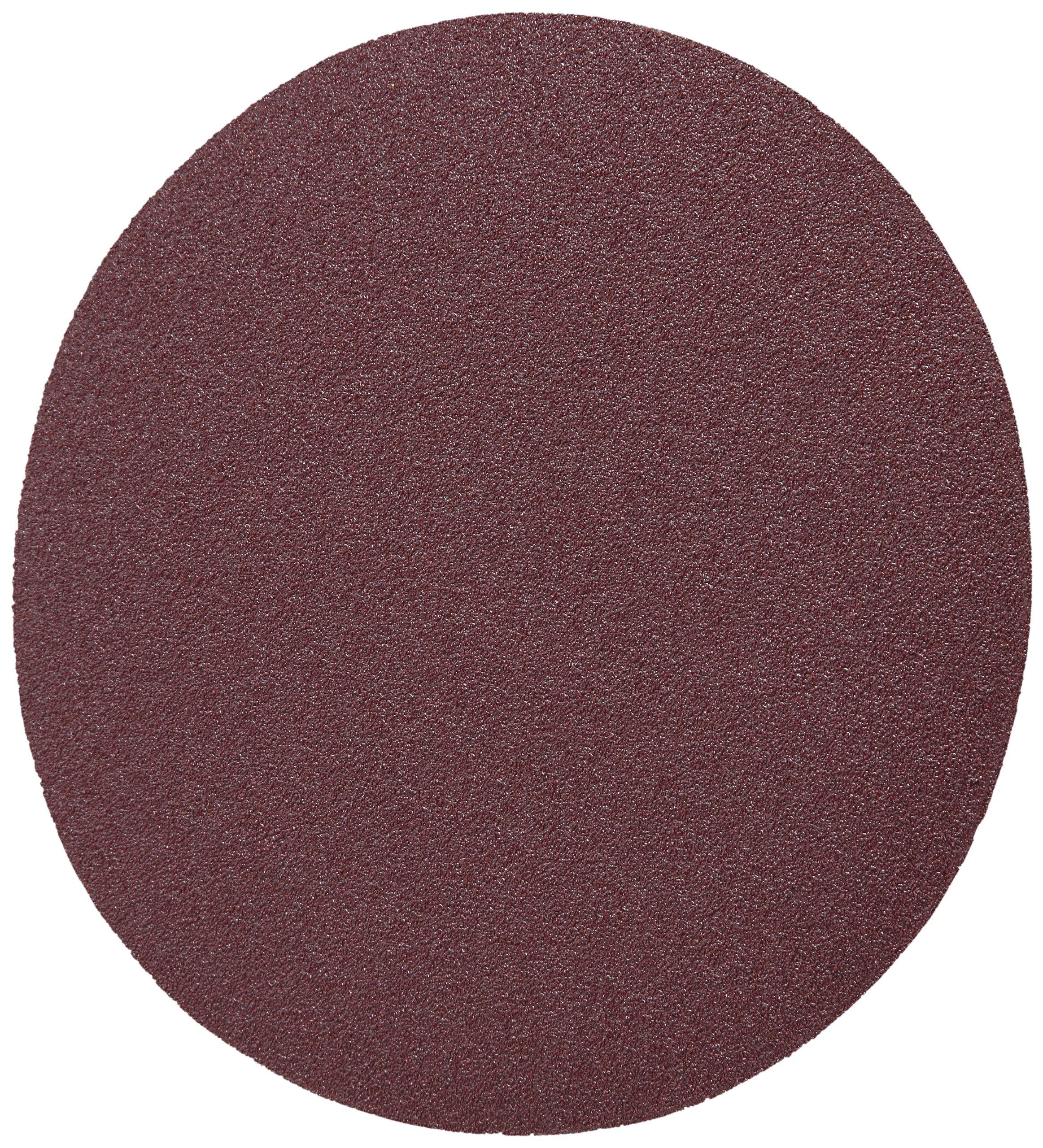 3M Stikit Cloth Disc 202DZ, J-Weight Cloth, PSA Attachment, Aluminum Oxide, 6'' Diameter, P120 Grit (Pack of 50)