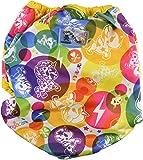 Rumparooz One Size Cloth Diaper Covers, TokiCorno w/Dandelion Trim