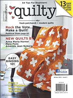 Quilty Magazine # 2 (Winter 2012,Fons & Porter)