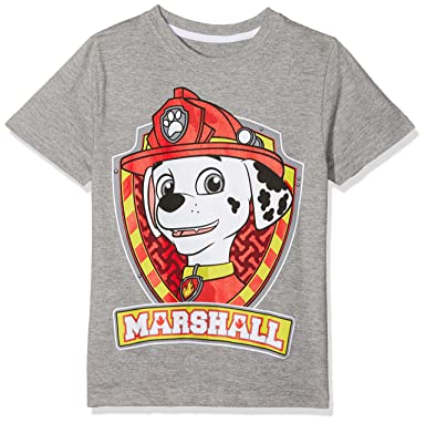 PAW PATROL Jungen Marshall and Chase T-Shirt