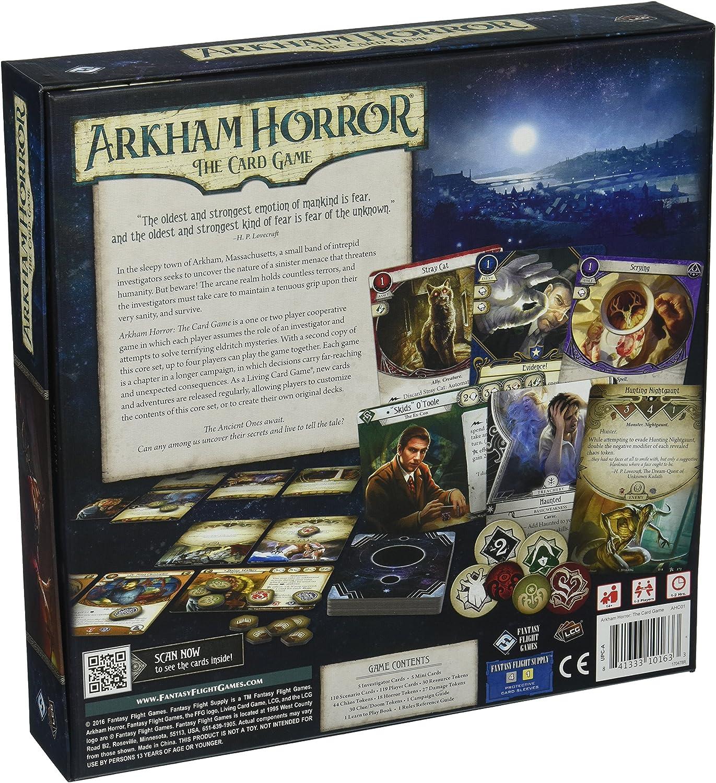 Arkham HORREUR le jeu de carte-Core//Base Set-Fantasy Flight Games-FFG-AHC01
