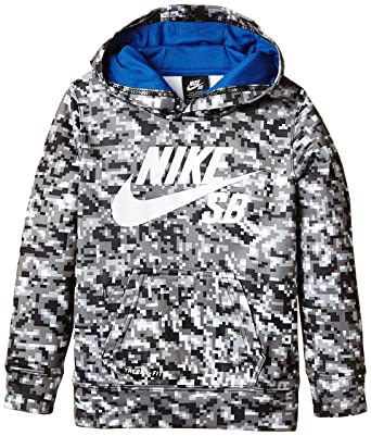 Garçon Over Sweat Sb À All Capuche Nike Print Therma Fit Shirt qavwPw