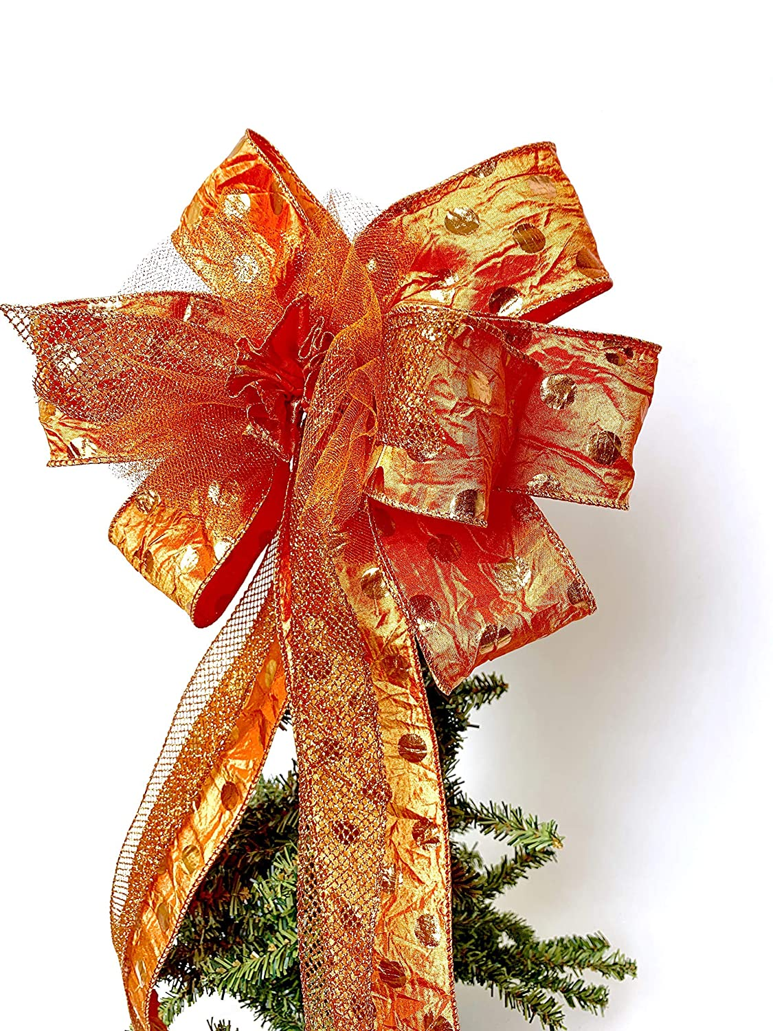 Fall Lantern bow Gift Bow Crush Textured Fall Front door Large Bow Wreath Bows Large wreath bow