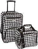 Rockland 2 Pc Luggage Set, Kensington (Black) - F102-KENSINGTON