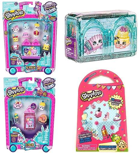 Shopkins World Vacation Season 8 Europe Gift Bundle Includes 12 Pack 5 2
