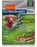 Hartz Ultraguard Plus REFLECTIVE Flea and Tick COLLAR for Dogs