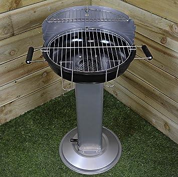 Piquetas para barbacoa bandeja de ceniza de soporte, con ventilación, fácil de limpiar,