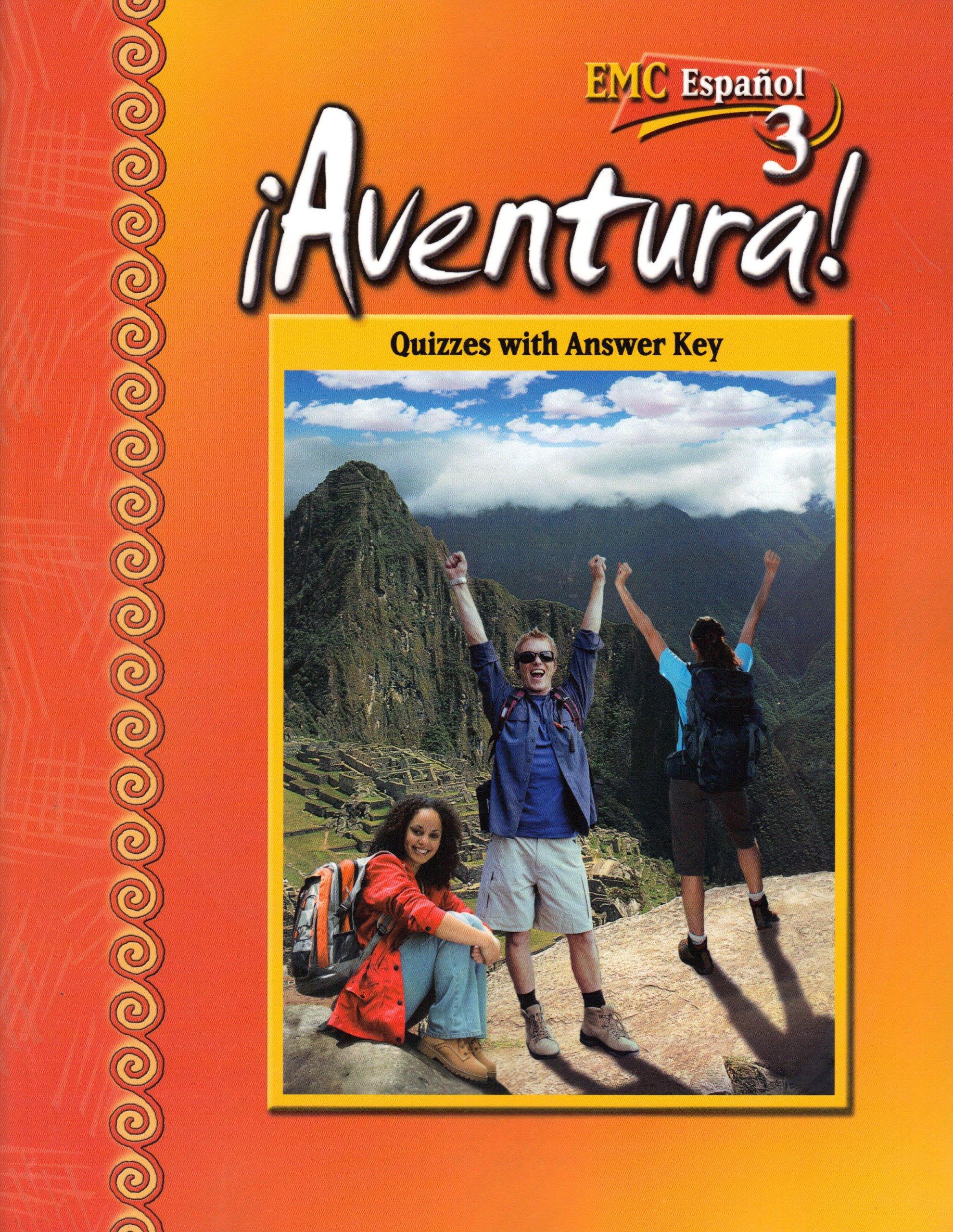 Aventura 3 emc espanol quizzes with answer key amazon books fandeluxe Images