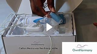 Amazon com : Callus Remover: Electric Rechargeable Pedicure Tools