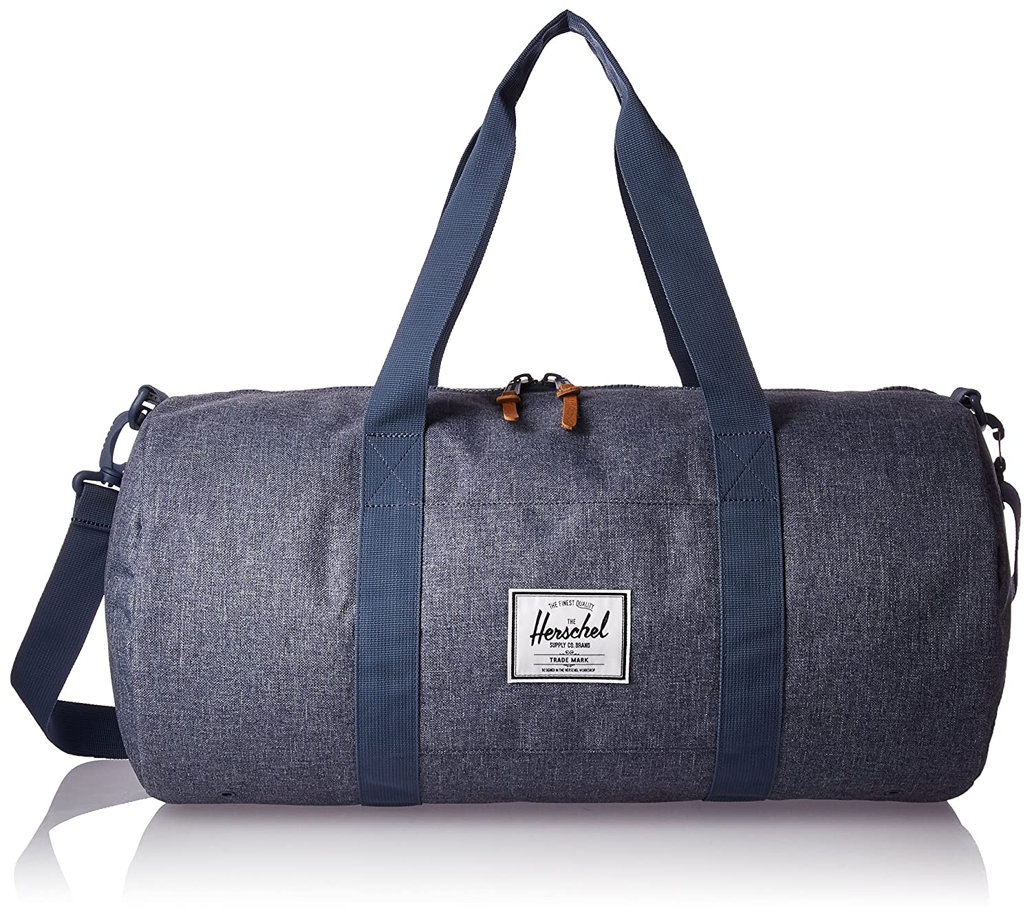 423738521f97 Herschel Sutton Mid Volume 28 Litre Duffle Carry Bag Dark Chambray  Crosshatch  Amazon.co.uk  Sports   Outdoors