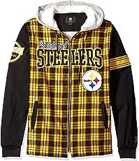 FOCO NFL Flannel Hooded Jacket