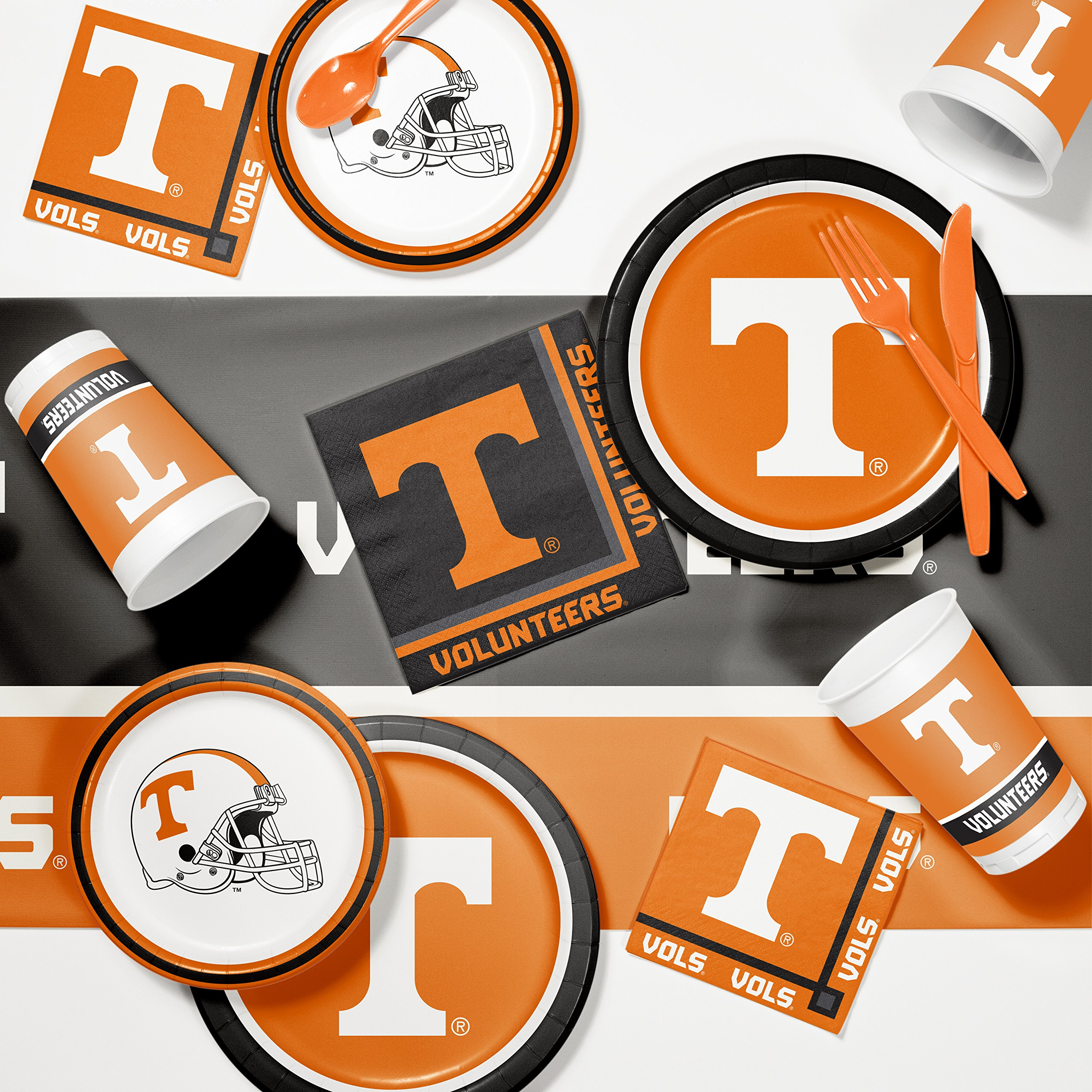 NCAA University Tennessee Game Day Party Supplies Kit by NCAA (Image #1)