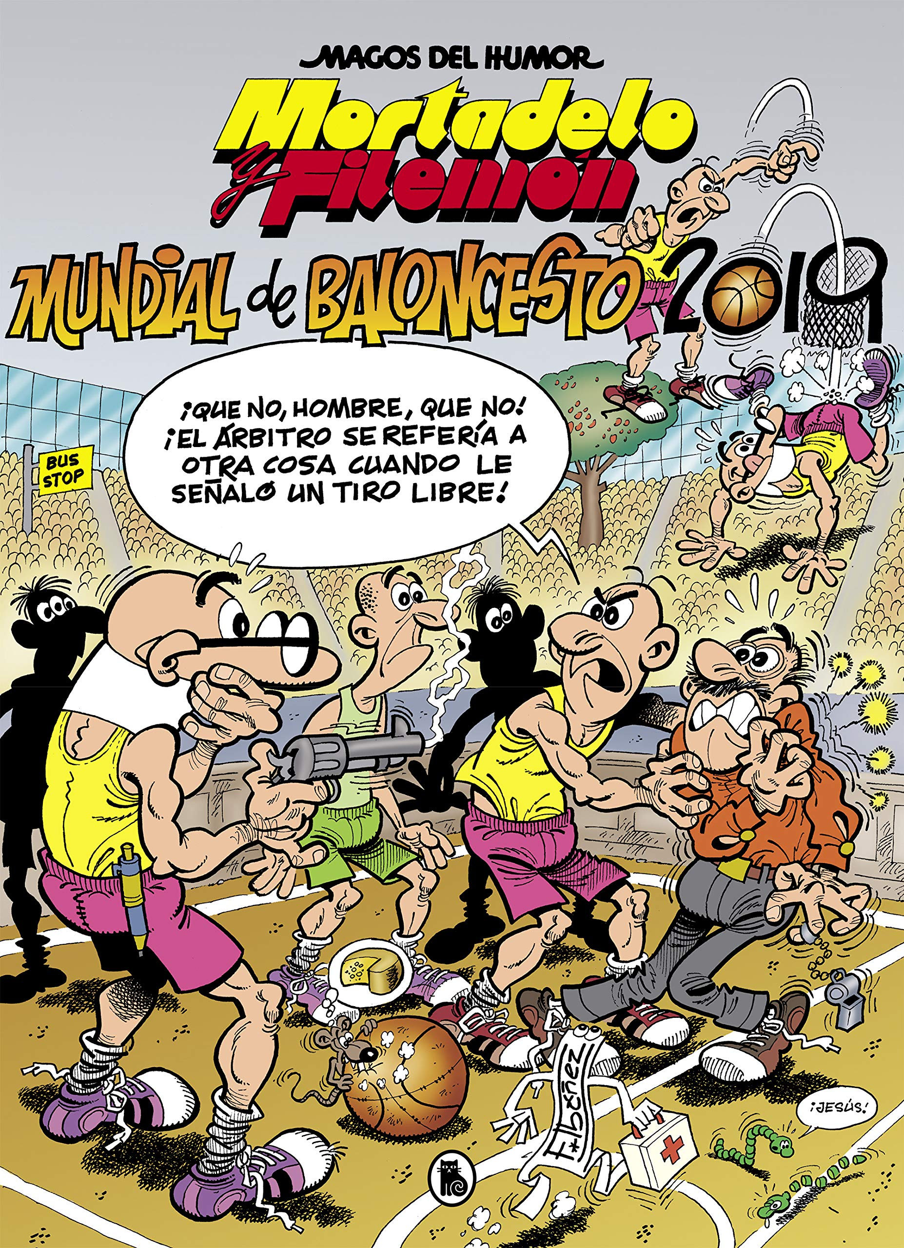 Mortadelo y Filemón. Mundial de Baloncesto 2019 Magos del Humor ...