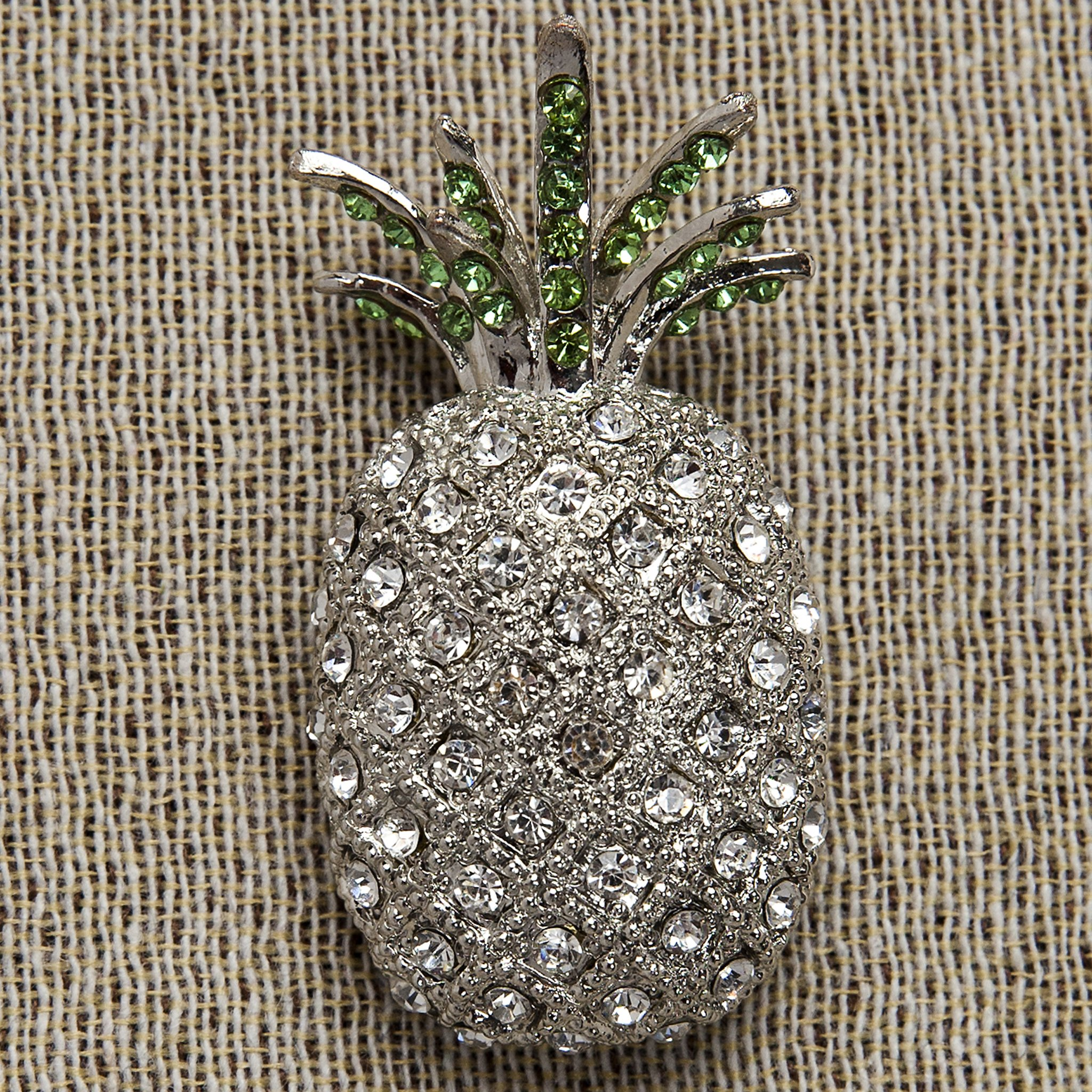 Evelyn Hope Collection Pineapple jewelry pin-brooch