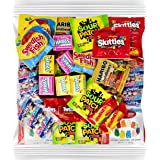 Your Favorite Party Candy - 2 Full Pounds of Sour Patch, Swedish Fish, Haribo & Albanese Gummy Bears, Skittles…