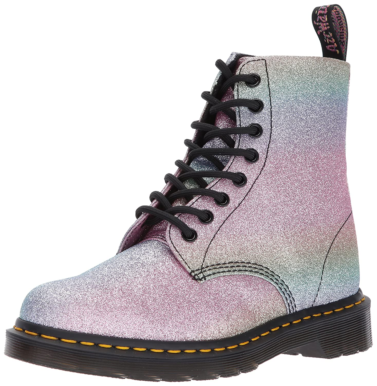 Dr. Martens Women's Pascal GLTR Ankle Boot B01N6LSI11 6 Medium UK (8 US)|Glitter